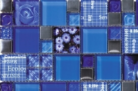 Mozaiek tegels - Inspiration Denim