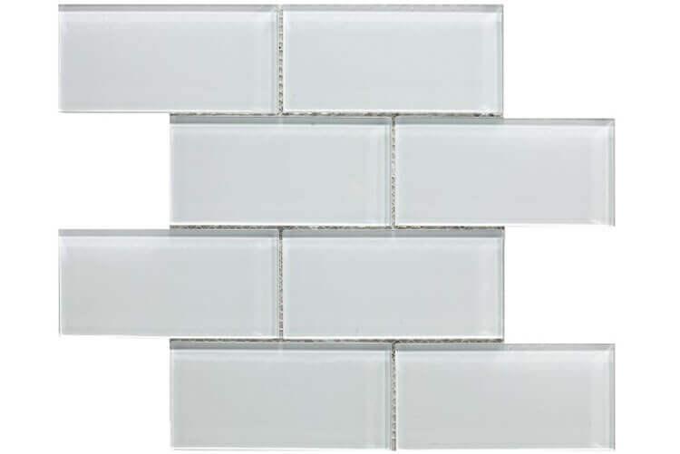 Keramische Mozaiek - Metro White