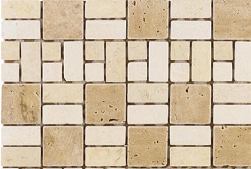 Natuursteen Mozaiek - Travertin Konya