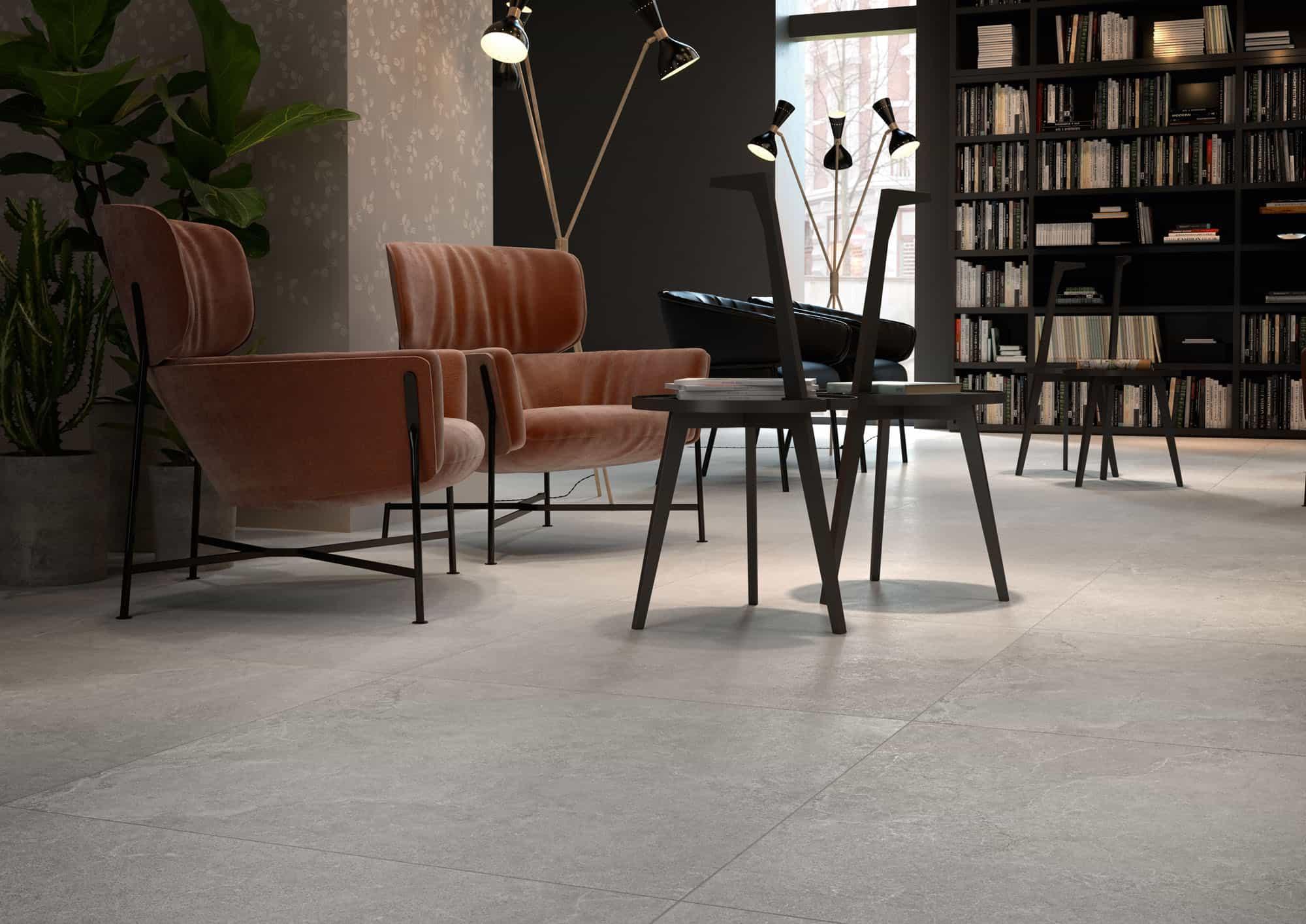 Vloertegels 90x90 - Lithos Stone - Naturale