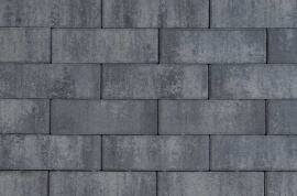 Betontegels 10,5x31,5 - Design Longstone Nero / Grey Emotion 31,5x10,5 Glad