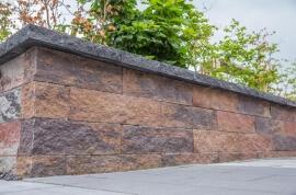 Tuinafwerking - Wallblock Split Oud bont