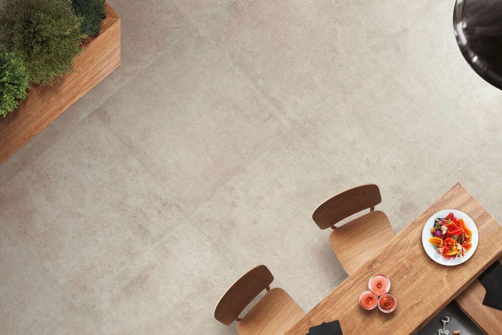 Vloertegels betonlook 100x100 cm - Square Rope In