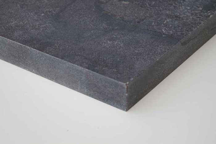 Paalmutsen - Chinese Hardsteen Paalmuts - Plat