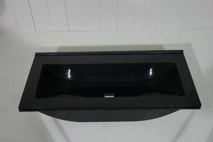 Natuursteen wastafels - Granieten Wasbak Type 1 - 100 cm