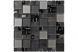 Glas Mozaiek - Carnaval Silver