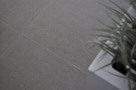 Vloertegels hal- en gang - Quarzite Grigio