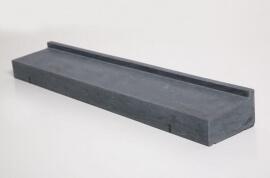 Natuursteen raamdorpels - Hardsteen Blue Cloud Raamdorpel LICHT GEZOET - 22,5 x 9 cm