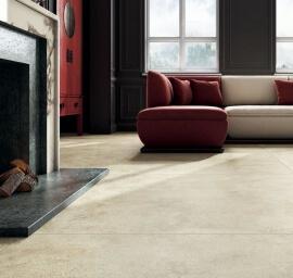 Vloertegels betonlook 60x120 cm - Grunge Taupe