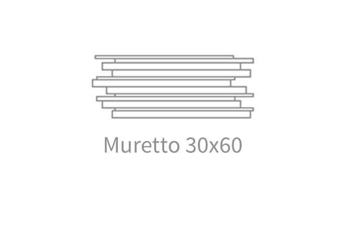 Antraciet wandtegels - Concrete Gravel Antracite - Muretto