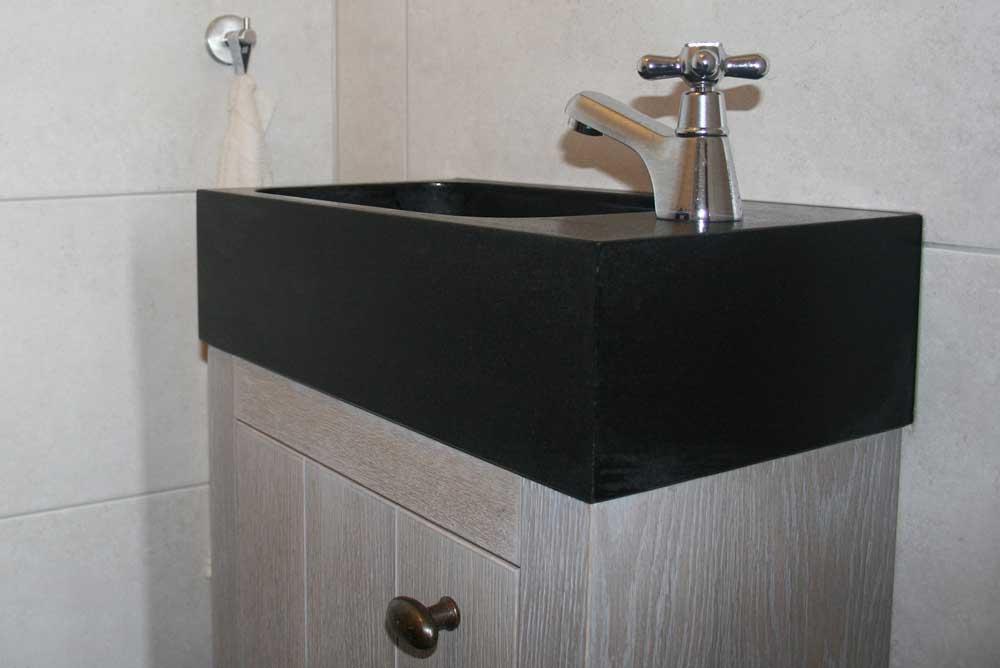 Natuursteen wastafels - Granieten Fontein