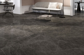 Vloertegels 75x150 - Marmorea2 Amani Grey - Gepolijst