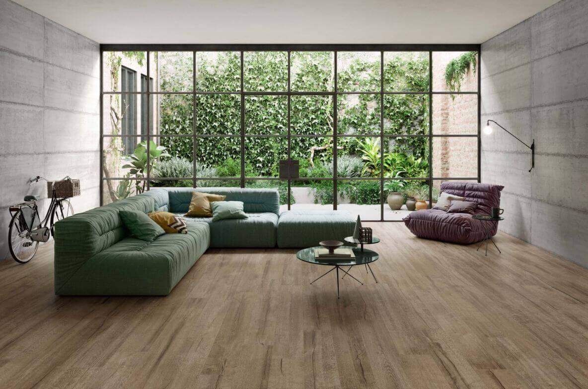 Vloertegels 30x180 - Timewood Brown