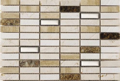 Keramische Mozaiek - Cuber Sand