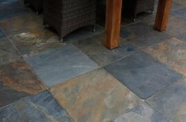 Bruine terrastegels - Sumi Stone (Buiten)