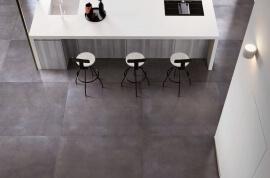 Vloertegels betonlook 100x100 cm - Infinity Antra