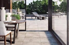 Terrastegels Betonlook - Cerasolid Freestone Sky
