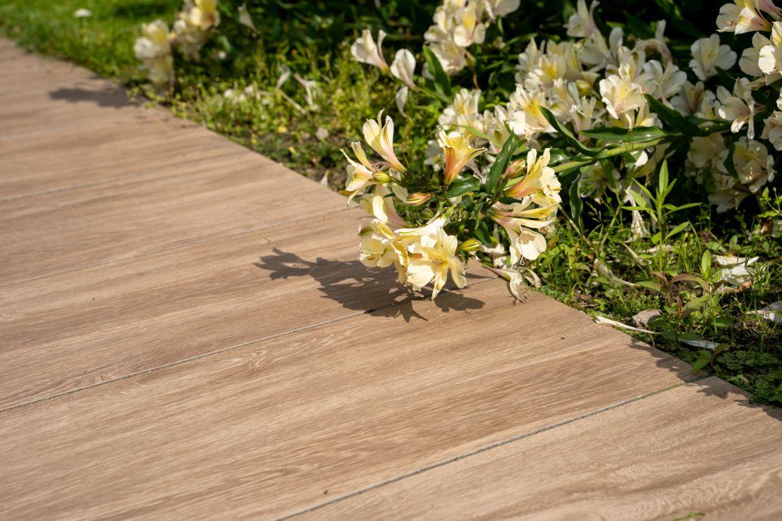 Terrastegels 30x120 - Oak Wood