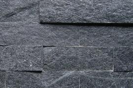 Black Kwartsiet Stone Panels