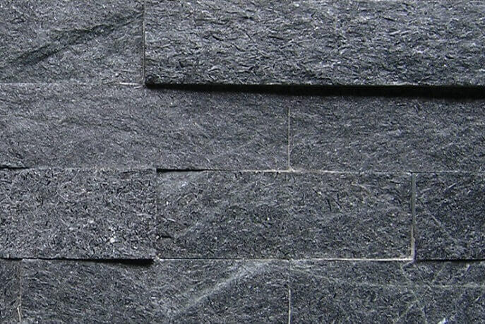 Stonepanels - Black Kwartsiet Stone Panels