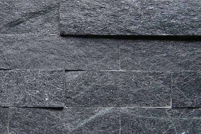 Stonepanels - Black Kwartsiet Stone Panels