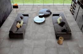 Vloertegels hal- en gang - Beton Clay (Binnen)