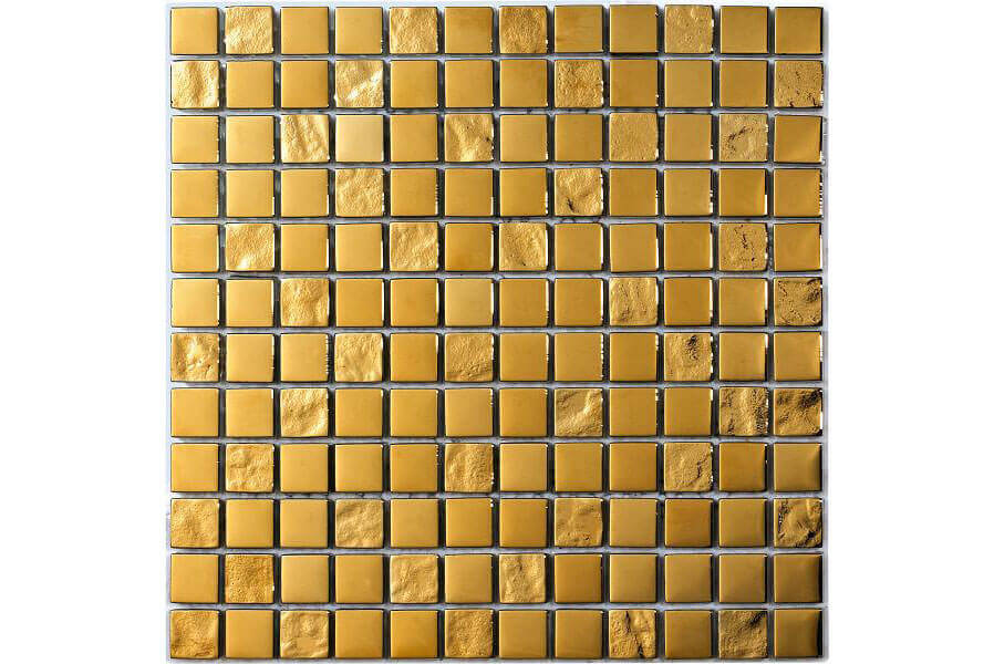 Glas Mozaiek - Luxury Gold