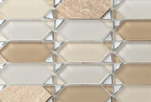 Keramische Mozaiek - Classic Beige