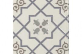Portugese keramische wandtegels - Toile Arabesco Blanco 15x15
