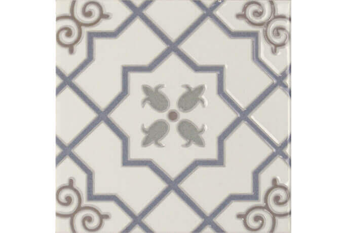 Wandtegels 15x15 - Toile Arabesco Blanco 15x15