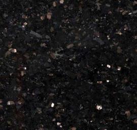 Donkere vloertegels - Star Galaxy Graniet / Black Galaxy - Gepolijst