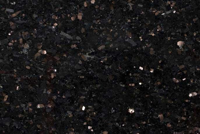 Tegels 40 cm - vrije lengte - Star Galaxy Graniet / Black Galaxy