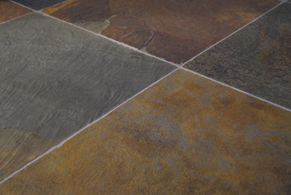 Leisteen vloertegels - Laos Rusty Slate (Binnen)