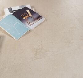 Vloertegels toilet - Concrete Gravel Ivory Platinum