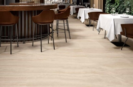 Wandtegels 90x180 - Via Appia Vein Cut Beige