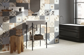 Wandtegels Industrieel Look - Cementine Retro Mix
