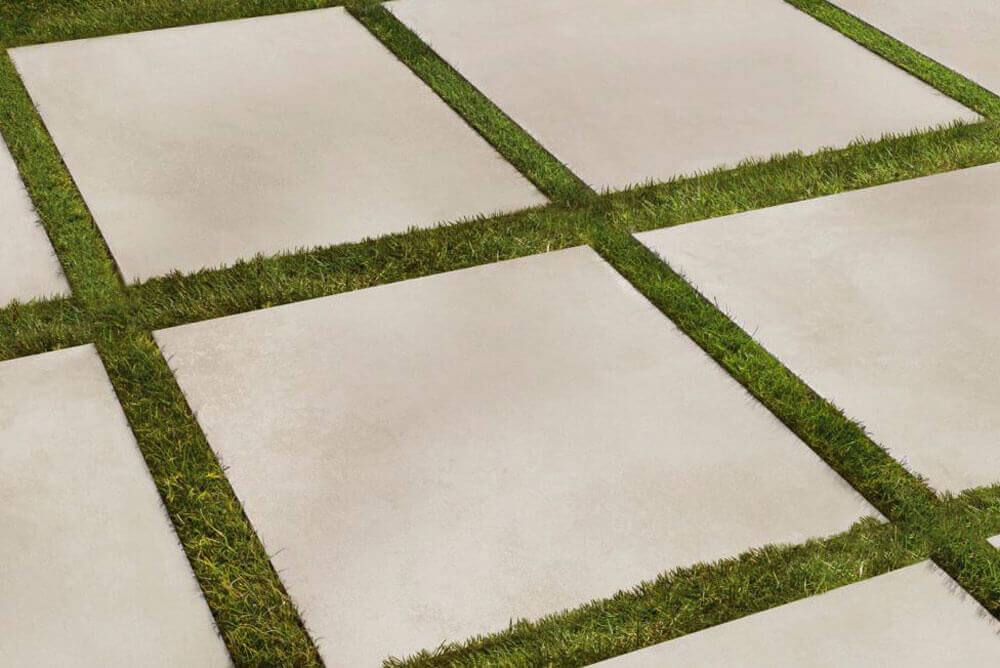 Terrastegels 80x80 - Beton Grit (Buiten)