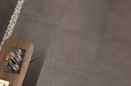 Vloertegels betonlook 100x100 cm - Infinity Moka