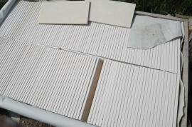 Restpartijen overige - Restpartij marmer composiet tegels 30x15x1 cm
