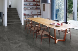 Leisteen Look vloertegels - Cornerstone Slate Black