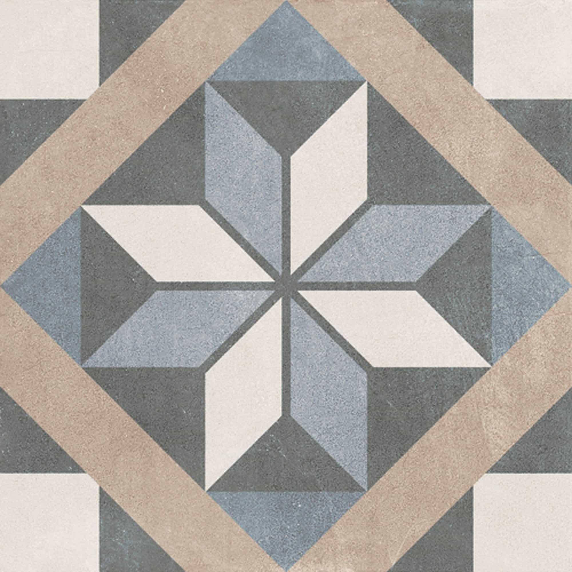 Vloertegels patroon - Patchwork Classic 04
