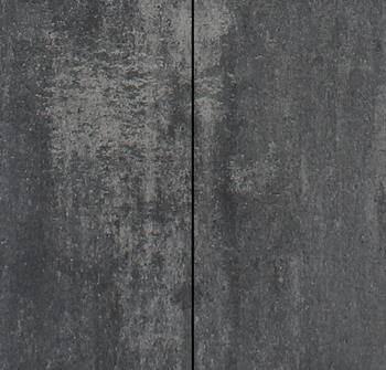Betonbestrating - Metro Vlaksteen Grijs-zwart