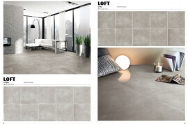 Antraciet vloertegels - Loft Dark Grey