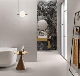 Vloertegels betonlook 60x120 cm - Insideart Pearl