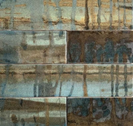 Wandtegels 15x15 - Raku Green