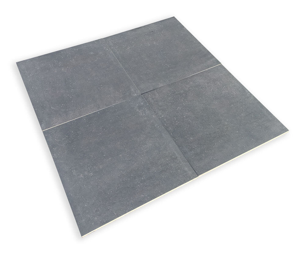 Terrastegels Hardsteen Look - Bluestone Dark
