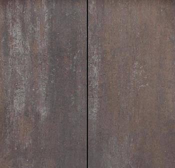 Bestrating - Metro Vlaksteen Grijs-bruin-zwart