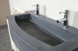 Granieten Wasbak Type 4 - 100 cm