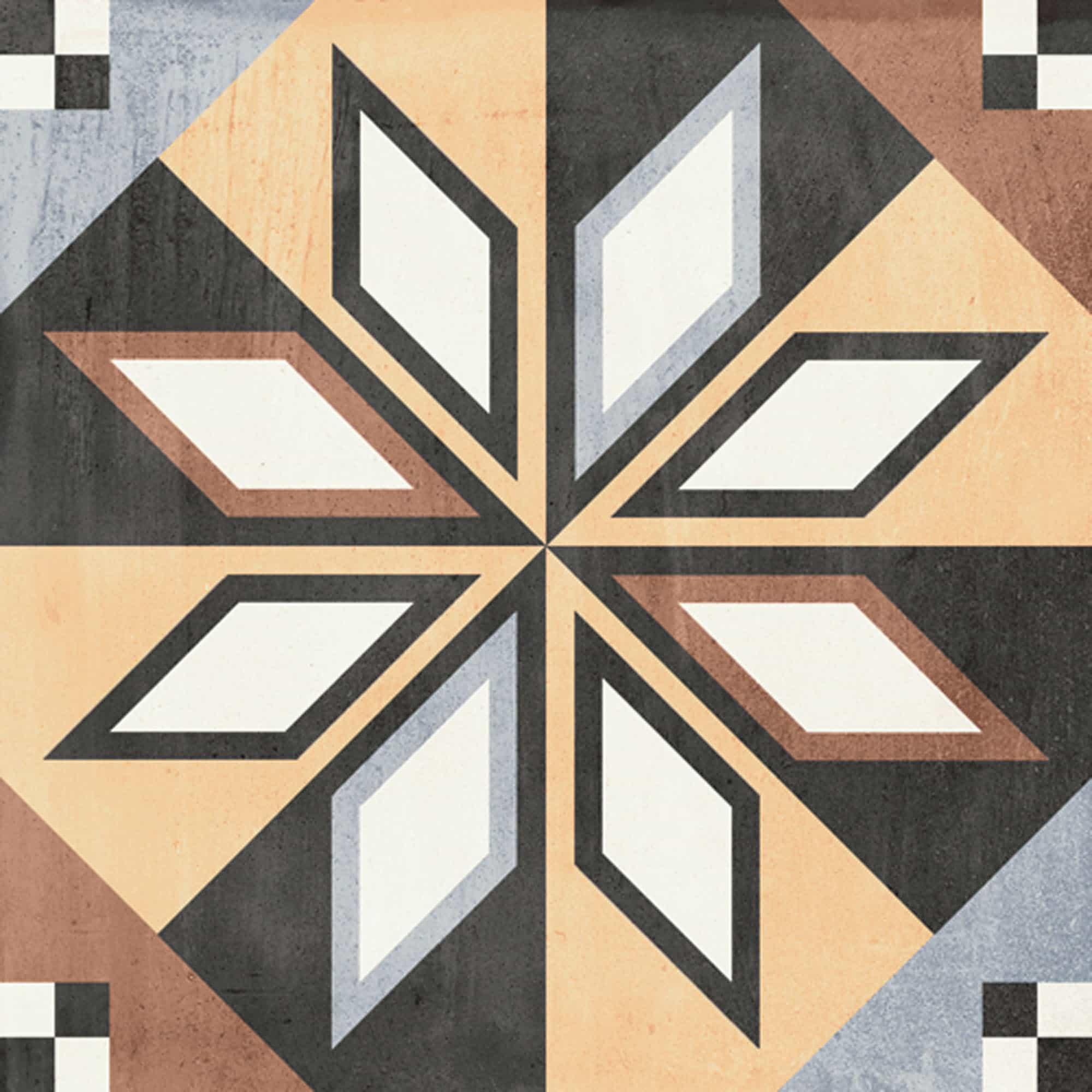 Vintage vloertegels - Patchwork Colors 01
