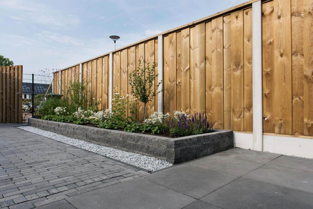 Tuin & bestrating - Wallblock Split Antraciet